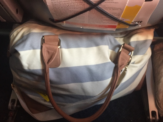 weekender bag from Target