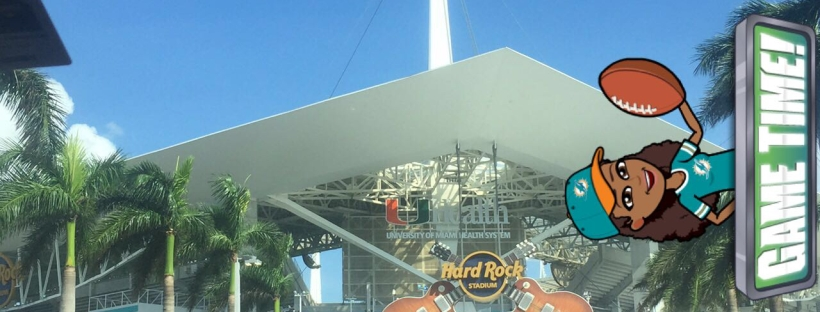 Hard Rock Stadium in Miami